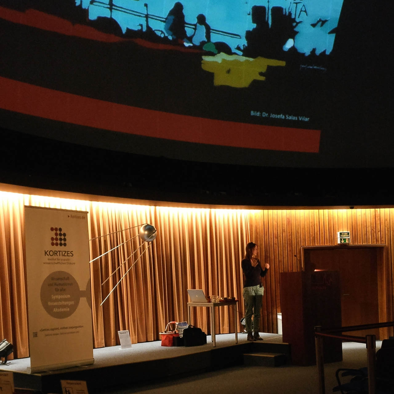 Christine Söffing beim Vortrag